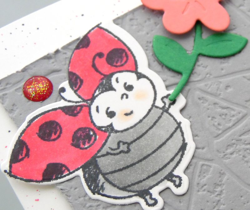 Petite coccinelle – Stampin' Up!